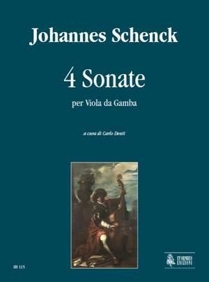 Schenck, J: 4 Sonatas