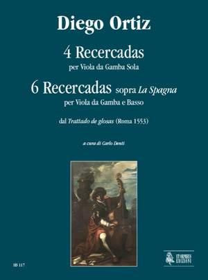 Ortiz, D: 4 Recercadas on La Spagna