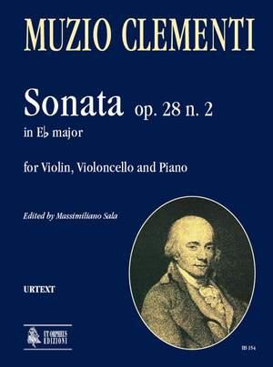 Clementi, M: Sonata in E flat major op. 28/2