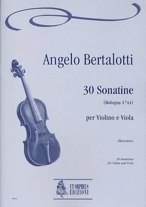 Bertalotti, A: 30 Sonatinas (Bologna 1744)