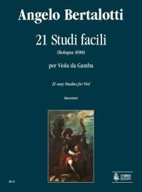 Bertalotti, A: 21 Easy Studies (Bologna 1698)