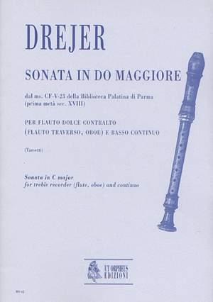Drejer, D M: Sonata No. 2 in C maj from the ms. CF-V-23 of the Biblioteca Palatina in Parma (early 18th century)