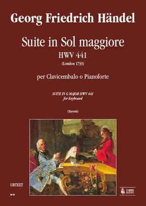 Handel, G F: Suite in G major (London 1733)  HWV 441