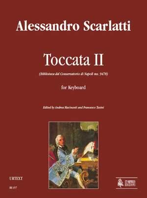 Scarlatti, A: Toccata II (Biblioteca del Conservatorio di Napoli ms. 9478)