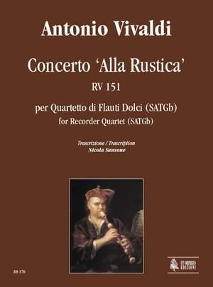 Vivaldi, A: Concerto 'Alla Rustica'  RV 151
