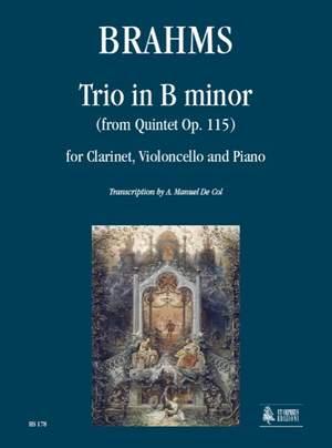 Brahms, J: Trio in B minor op.115