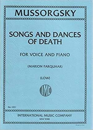 Moussorgsky, M: Songs & Dances Of Death