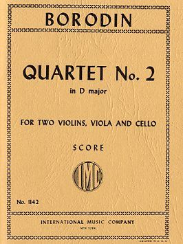 Borodin, A: Str.quartet No.2 D Major