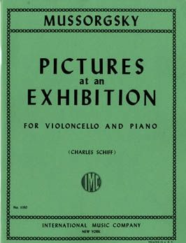 Mussorgsky: Pictures at an Exhibition Vc Pft