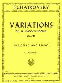 Tchaikovsky: Variations On A Rococo Theme Op.33