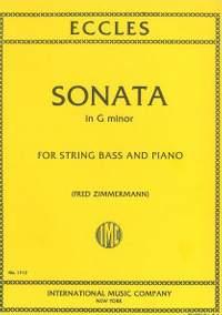 Eccles, H: Sonata in G minor