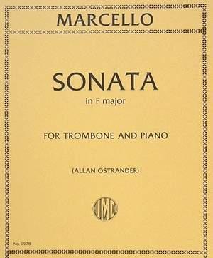 Marcello, B: Sonata No. 1 F major