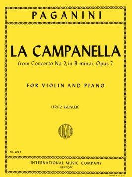 Paganini, N: La Campanella op.7