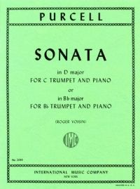 Purcell, H: Sonata Trp(bb Or C) Pft