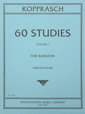 Kopprasch, C: 60 Studies Volume 1 Vol. 1