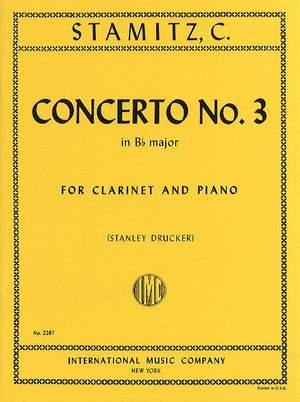 Stamitz, C P: Concerto No. 3 B flat major