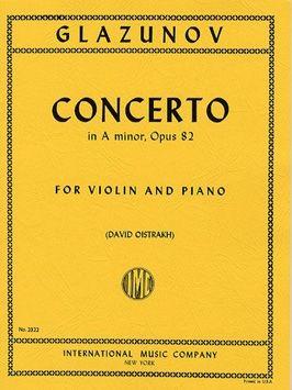 Glazunov, A: Violin Concerto A minor op.82