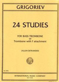 Grigoriev, B: 24 Studies