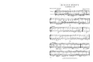 Kueffner, J: 24 Easy Duets