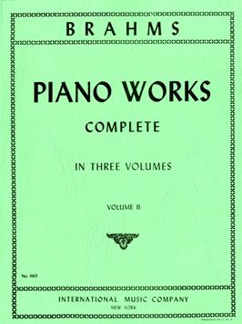 Brahms, J: Complete Piano Works II Pft