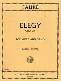 Fauré, G: Elegy op.24