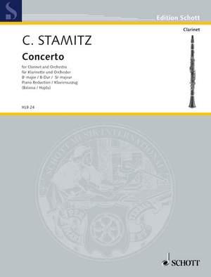 Stamitz, C P: Concerto Bb major