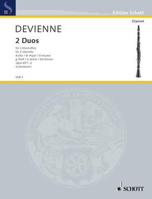 Devienne, F: 2 Duos op. 69