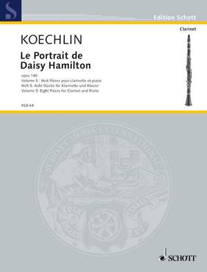 Koechlin, C: Le Portrait de Daisy Hamilton op. 140 Heft 5