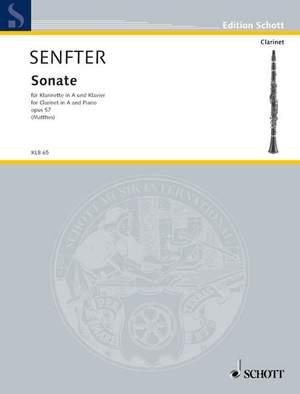 Senfter, J: Sonata A major op. 57