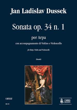 Dussek, J L: Sonata op. 34/1