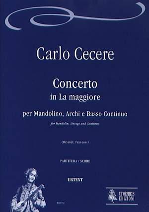 Cecere, C: Concerto in A major