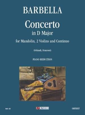 Barbella, E: Concerto in D major