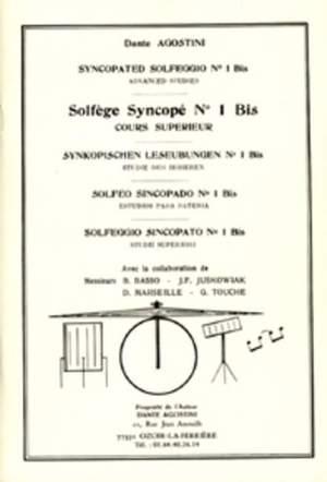 Solfege Syncope   Vol. 1
