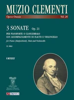 Clementi, M: 3 Sonatas op. 21