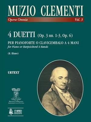 Clementi, M: 4 Duets op. 3/1-3