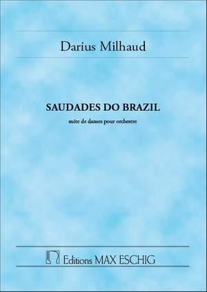 Milhaud: Saudades do Brazil Op.67