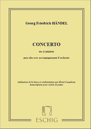 Handel: Concerto in B minor