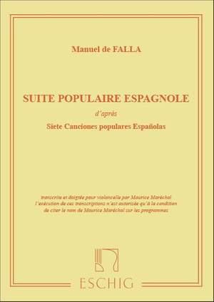 Falla: Suite populaire espagnole