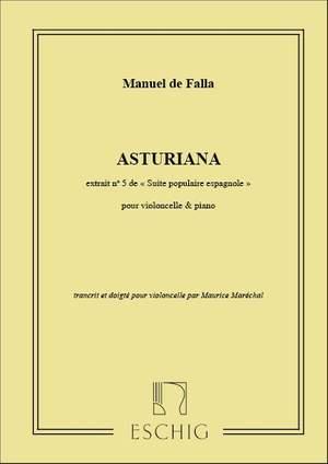 Falla: Asturiana