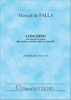 Falla: Concerto en ré majeur