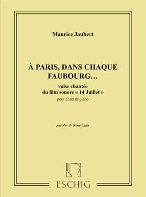 Brillouin: Quatorze Juillet, Suite de Danses