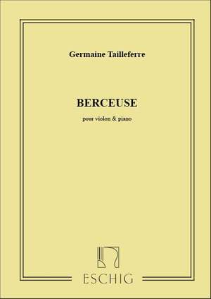 Tailleferre: Berceuse