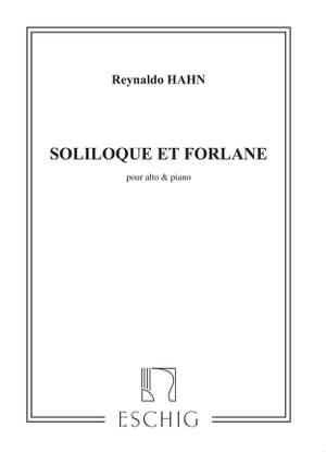 Hahn: Soliloque et Forlane