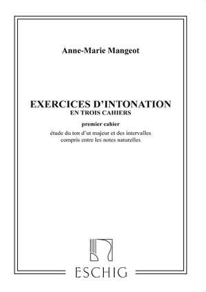 Mangeot: Exercices d'Intonation Vol.1