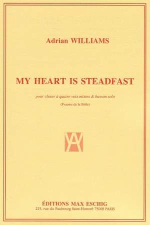 Williams: My Heart is Steadfast
