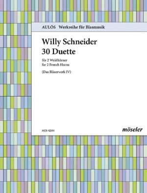 Schneider, W: 30 duets