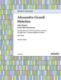 Grandi, A: Motets