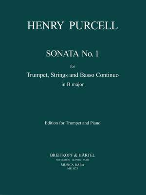 Purcell, H: Sonate Nr. 1 D-dur