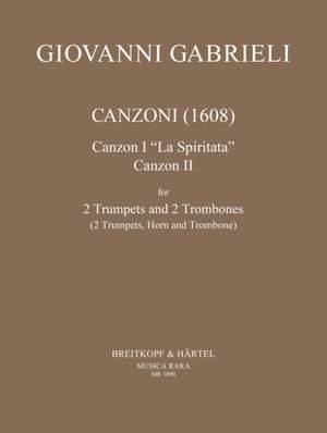 Gabrieli, G: Canzoni (1608)