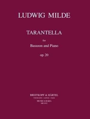 Milde, L: Tarantella op. 20 op. 20